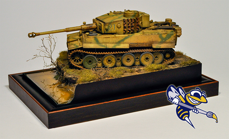 Deve's Tiger with the Hornet Hobbies logo