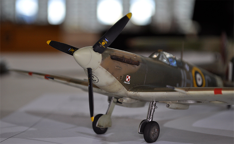 1/48 Spitfire by Tony Bell
