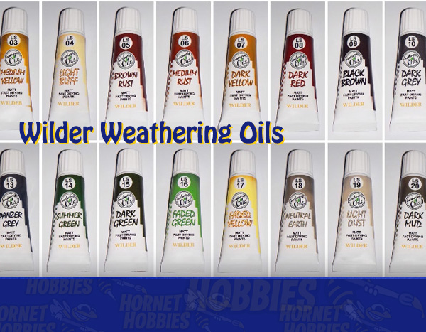 Oil paints specifically designed and formulated for scale modelling!