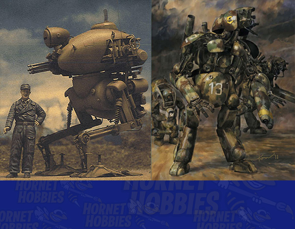 The rare Japanese Maschinen Krieger (Ma.K) kits are now available at Hornet Hobbies at a great price!