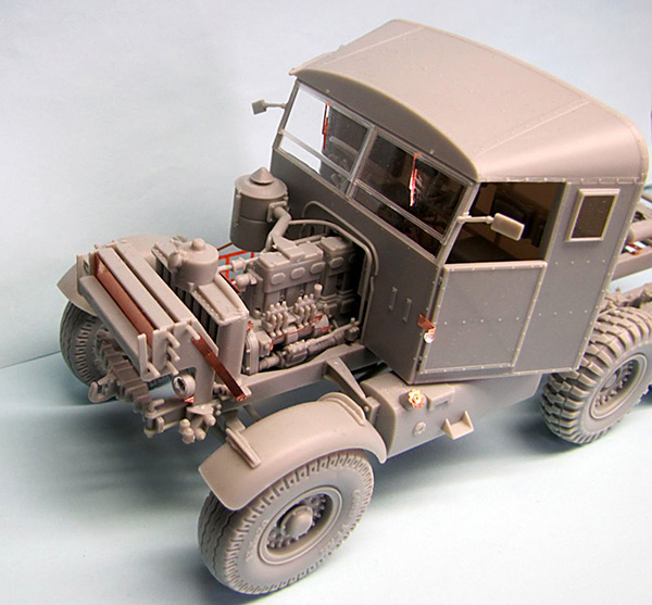 Thunder Model 1:35 British Scammel Pioneer SV2S