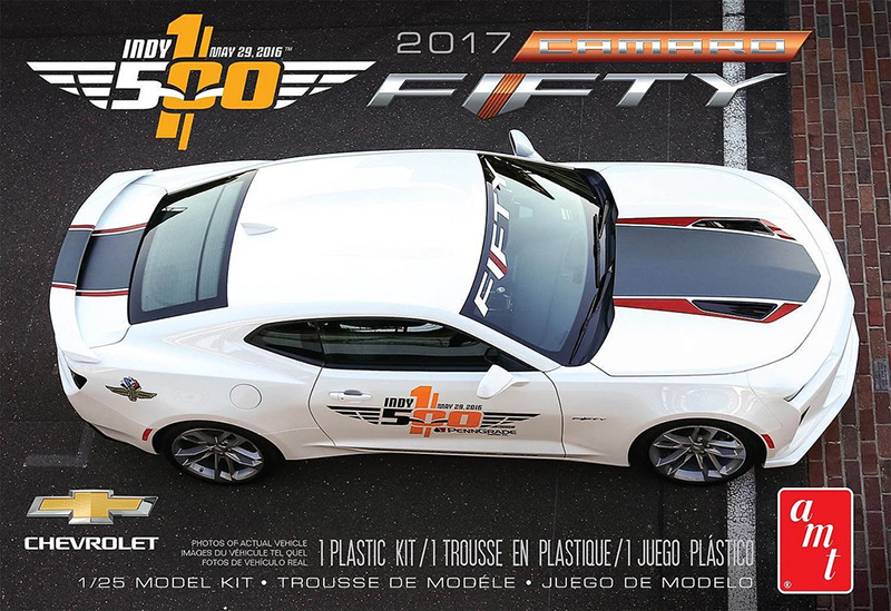 AMT 1:25 2017 Camaro Indy 500 Pace Car box