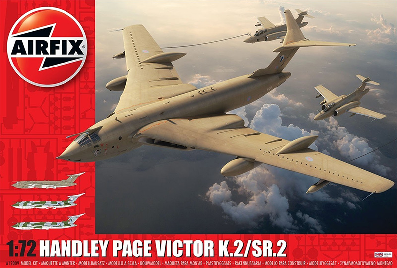 Airfix 1:72 Handley Page Victor K.2/SR.2 box cover
