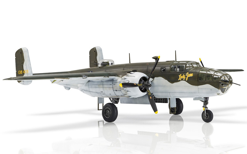 Airfix North American B-25C/D Mitchell model