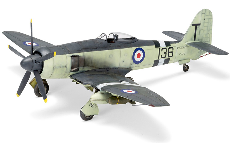 Airfix Hawker Sea Fury FB.II model
