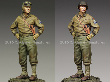 Alpine 35218 1/35 US 3rd Armored Division Staff Sergeant