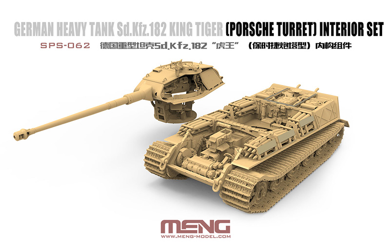 Meng 1:35 Sd.Kfz.182 King Tiger (Porsche Turret)