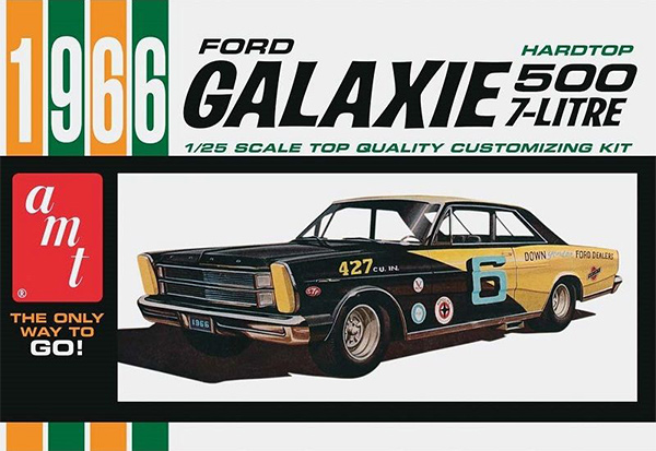 AMT 1966 Ford Galaxie 500